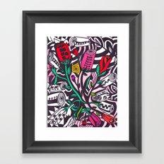 Thornless Roses Framed Art Print