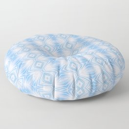 Cornflower Curves Floor Pillow