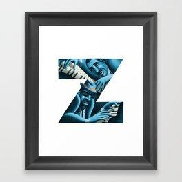 jazz! - z1 Framed Art Print