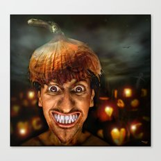 Hello Halloween ! Canvas Print