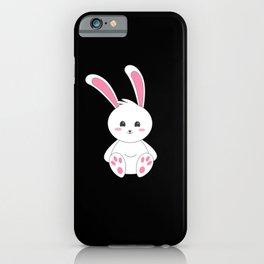 Children's Bunny I Kanickel Rabbit Gift Motif iPhone Case
