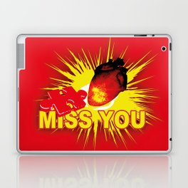 missing part of my heart Laptop & iPad Skin