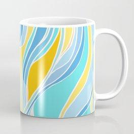 Beach Day Abstract Coffee Mug