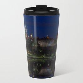 Castle on the Hill. Travel Mug