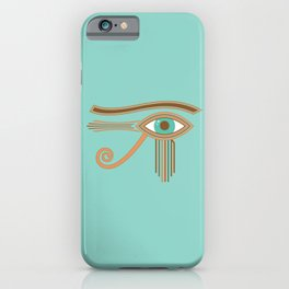 Eye of Horus Ancient Egyptian Amulet iPhone Case