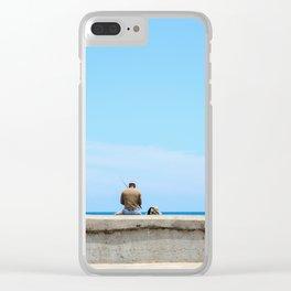 Cuba Clear iPhone Case