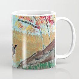 Autumn Duck Pond Coffee Mug