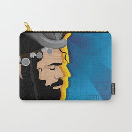 Boho Indian Sage Illustration Carry-All Pouch
