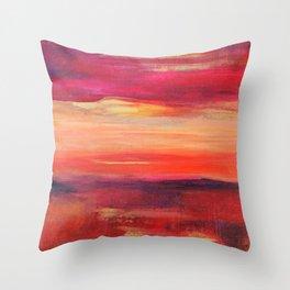 The Golden Lining Throw Pillow