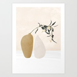 Couple Of Vases Art Print