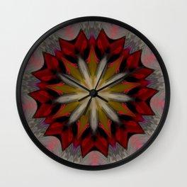 Multicolor Dual Portrait Mandala Wall Clock