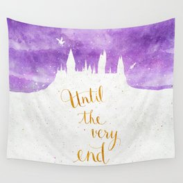 Until the very end Wall Tapestry
