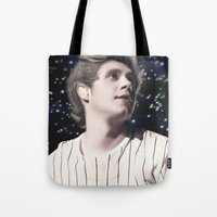 niall Tote Bags featuring Niall OTRA by Clara J Aira