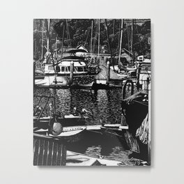 Oceanside CA - Reflecting on the past Metal Print