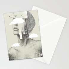 Town Facet Stationery Cards