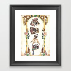 Snap! Framed Art Print