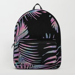 Iridescent Summer Palm Leaves Backpack