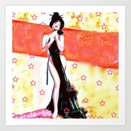 Stars and Stripe Art Print