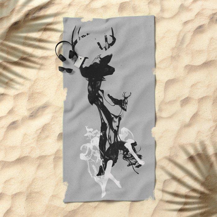 Last time I was a Deer Beach Towel
