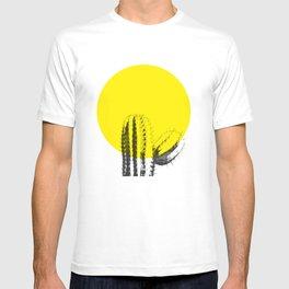 Sunset Minimal Cactus T-shirt