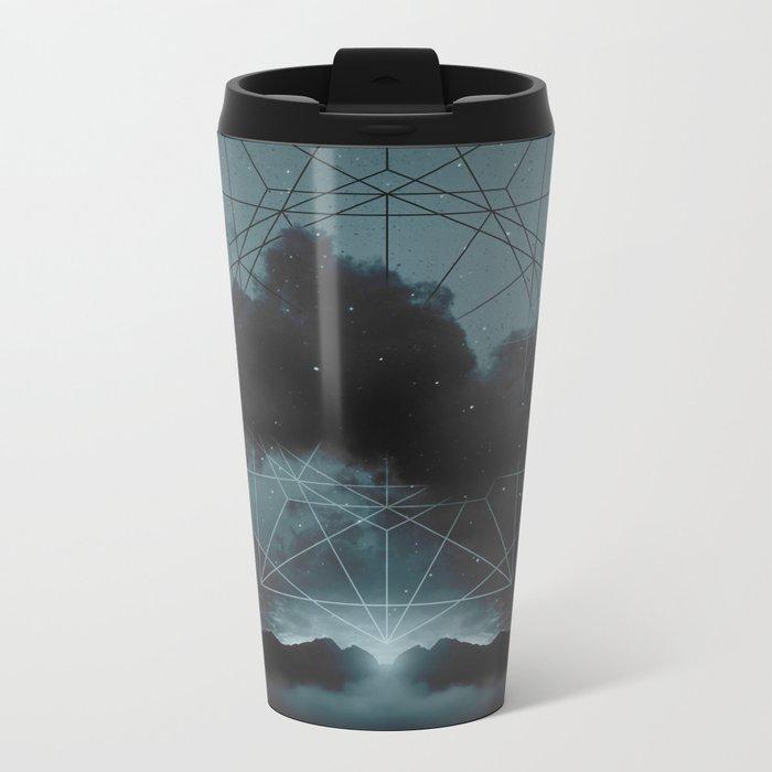 Beyond the Fog Lies Clarity | Midnight Metal Travel Mug