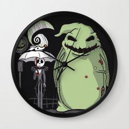 my neighbor hallowen Wall Clock