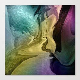 Liquid Abstract Canvas Print