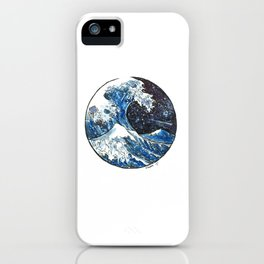 The Midnight Wave iPhone Case