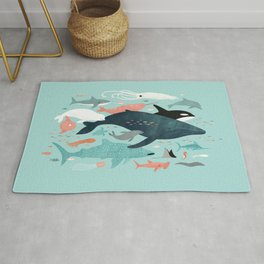 Under the Sea Menagerie Rug