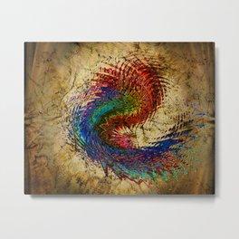 color spiralis Metal Print