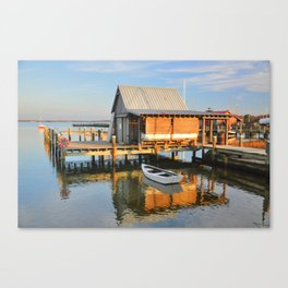 Crabber's Shanty Canvas Print
