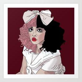 Crybaby Melanie Art Print