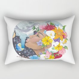 Beauty in Abstract-Realism Rectangular Pillow
