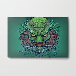 Fish Face Metal Print