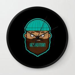 Beardman Wall Clock