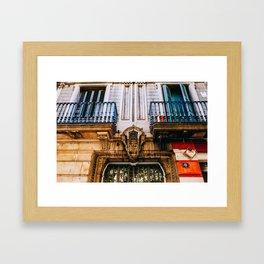 Eixample - Barcelona, Spain - #16 Framed Art Print