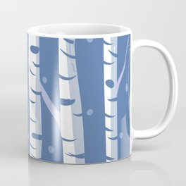 night birch Coffee Mug