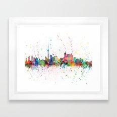 Toronto Canada Skyline Framed Art Print