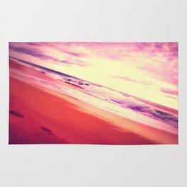 Twisted Pink Beach Rug