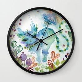 Esmeralda of the Mystery Wall Clock