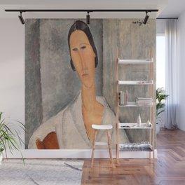 Amedeo Modigliani - Madame Hanka Zborowski Leaning on a Chair Wall Mural