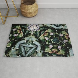 Succulents On Show No 2 Rug