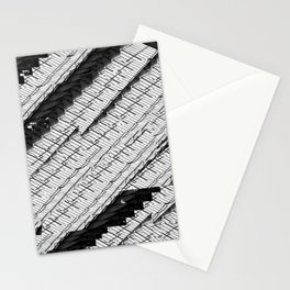 Texture 458 - glass Stationery Cards