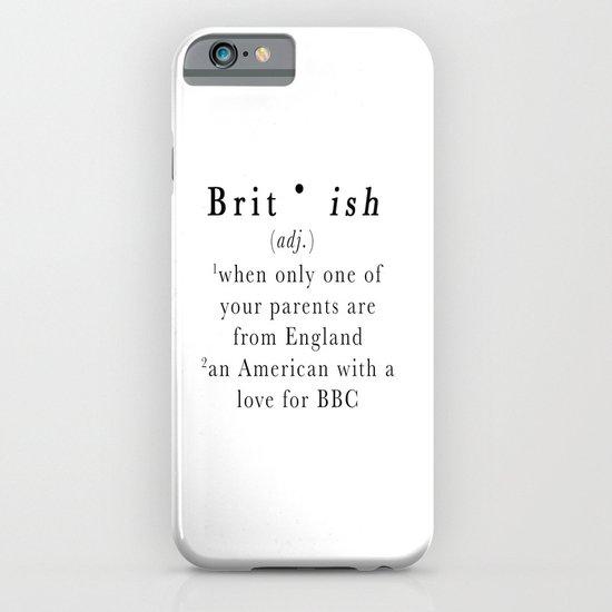 Brit(ish) iPhone & iPod Case