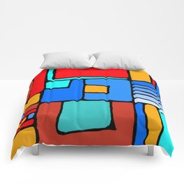 Cargo Ship Containers 10 Comforters