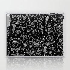 Black flash Laptop & iPad Skin
