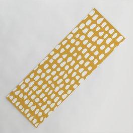 Dots / Mustard Yoga Mat