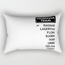 team ragnar Rectangular Pillow