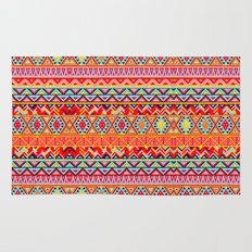 India Style Pattern (Multicolor) Rug