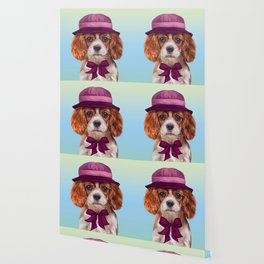 Drawing dog breed Cavalier King Charles Spaniel Wallpaper